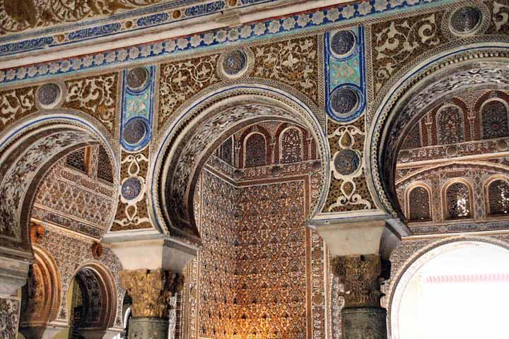 Real alc zar de sevilla maravillas de espa a por sole for Salon los azulejos