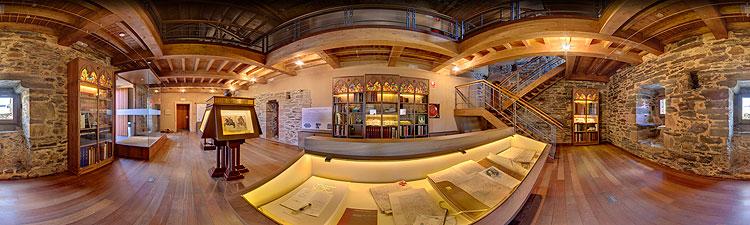 Castillo-de-los-Templarios-Ponferrada-biblioteca-templaria