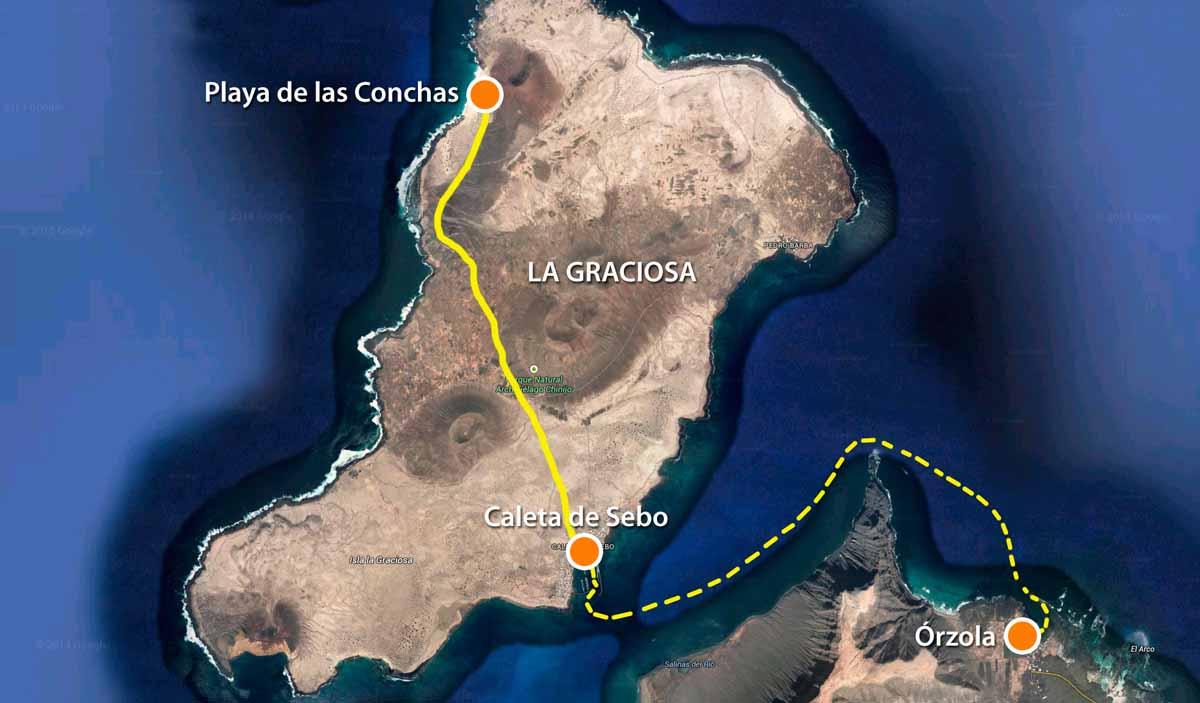 playa-de-las-conchas-mapa-situacion