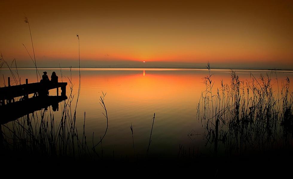 albufera-puesta-sol