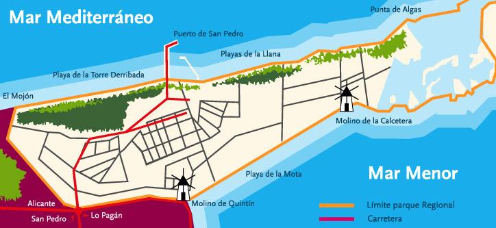 san-pedro-del-pinatar-mapa
