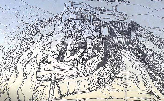 Siurana-sigloIX-historia