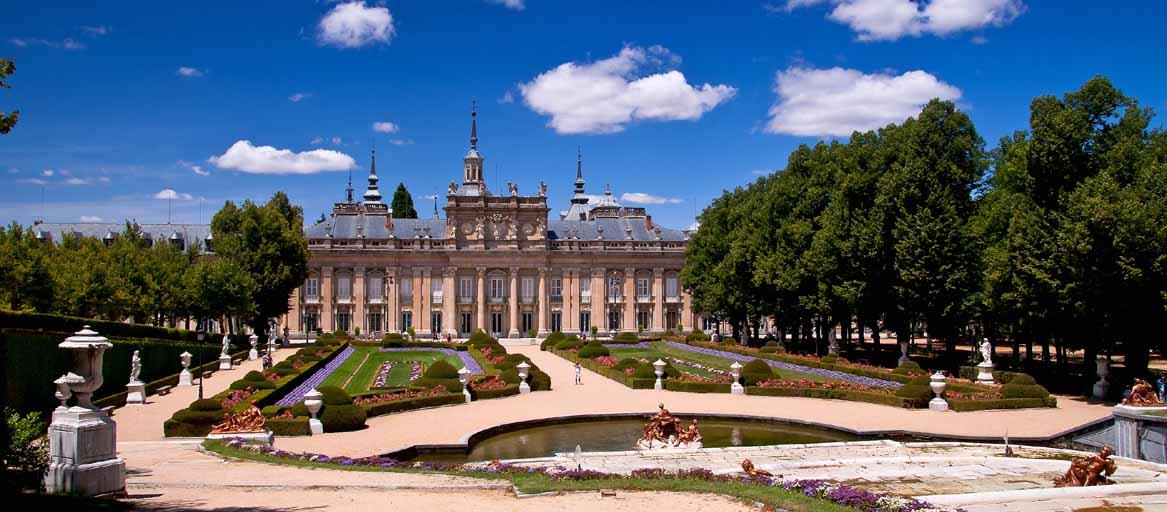 Palacio real de la granja de san ildefonso maravillas de for Jardines de san ildefonso