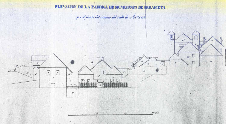 Fabrica-de-Armas-de-Orbaizeta-arquitectura