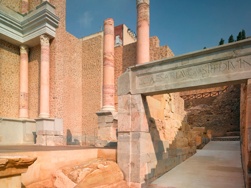 teatro-romano-de-cartagena-fachada