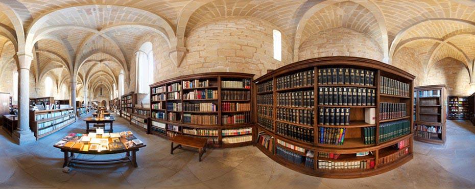 monasterio-de-poblet-biblioteca