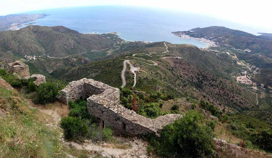 Castillo-de-Sant-Salvador-de-Verdera-vistas