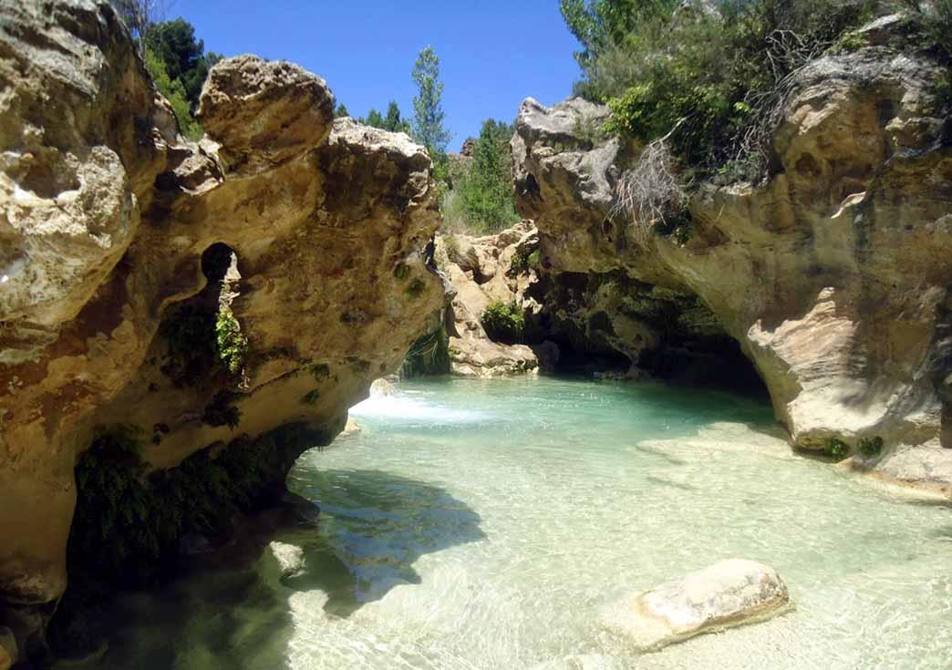 LAS CHORRERAS: piscinas naturales de ensueño